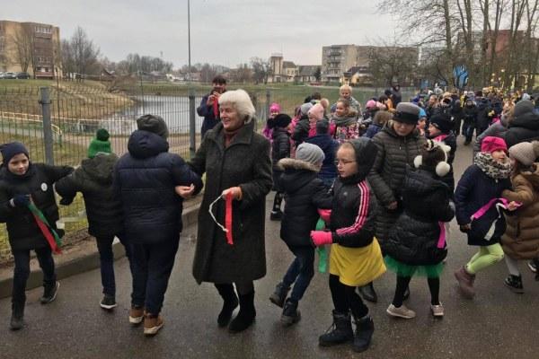 Lietuvos nepriklausomybės atkūrimo trisdešimtmečio šventė mokykloje