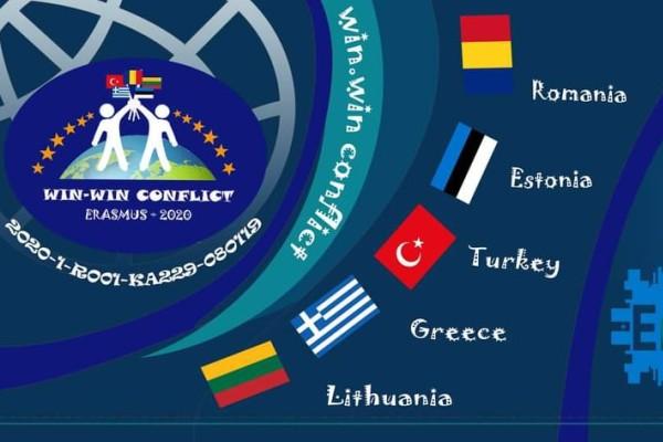 "Tarptautinis projektas ""Win-Win Conflict"""
