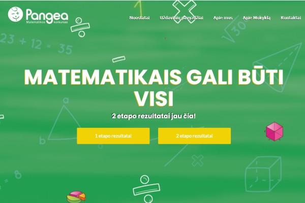 """SVEIKINAME KONKURSO """"PANGEA 2021"""" NUGALĖTOJUS!"""