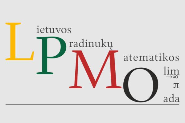 ĮVYKO LIETUVOS PRADINUKŲ MATEMATIKOS OLIMPIADA